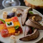 Recette d'aiguillettes de Canard fermier des Landes au balsamique, et salade de tomates